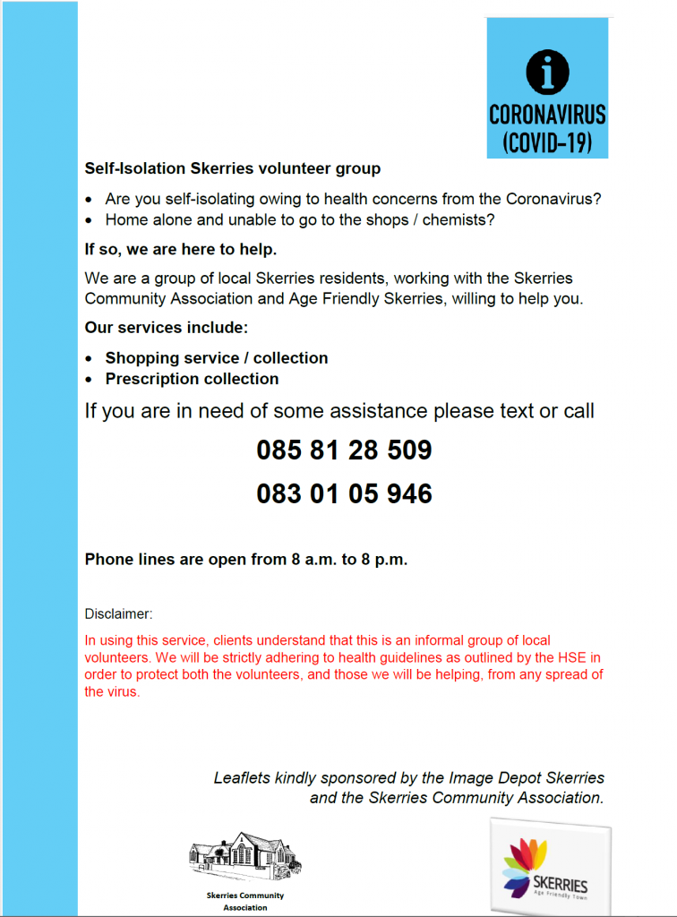 Skerries Isolation Support